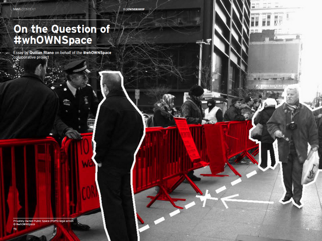 #whOWNSpace