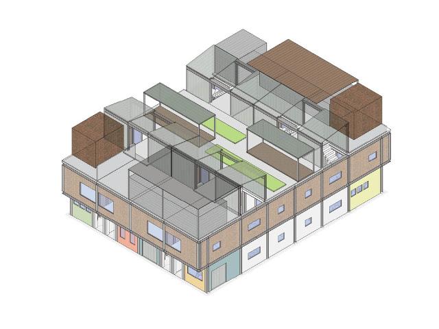 EIght -Unit Housing Block